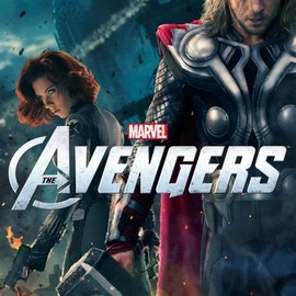 New Marvel's The Avengers poster featuring Thor & Black Widow