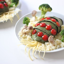 """This is """"Ohmu-Rice"""". Omu Rice from Japan."""