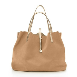 tiffany&co - TRT Reversible Tote brown&gold