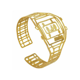 Monserat De Lucca - Watch Brass Bracelet