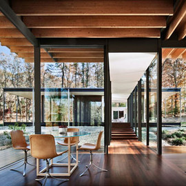Kengo Kuma - Private House, New Canaan, Connecticut, USA