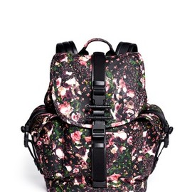 GIVENCHY - Obsedia floral print leather backpack