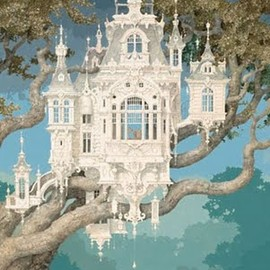 * - a castle for birds