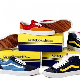 VANS - Vans x The Skateboarder Magazine Collection