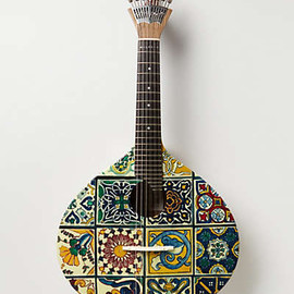 Anthropologie - Tiled fado guitar
