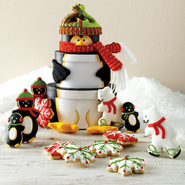 Penguin Cookie Tower