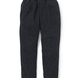 nonnative - MANAGER EASY PANTS RELAX FIT WOOL GLEN PLAID