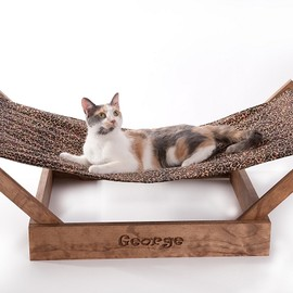 sunnica - Sleepurrz Wooden Cat and Dog Hammock