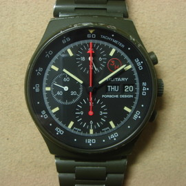 PORCHE DESIGN - Military Chronograph (Olive Drab)