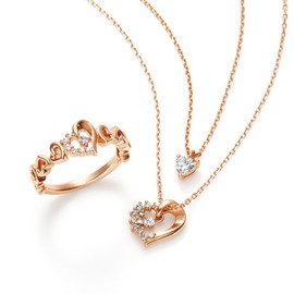 canal 4℃ - necklace&ring set