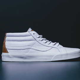 VANS - Vans California Spring 2014 White Nappa Leather Pack