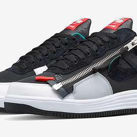 Nike, Acronym - Lunar Force 1 Zip Up - Black/Turbo Green