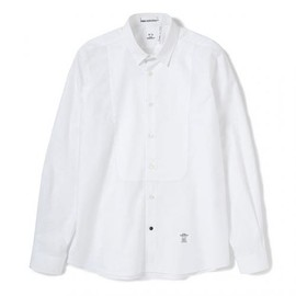 BEDWIN - LS ST point collar dress shirts