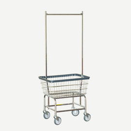 R&B/RB - LOUNDRY CART DOUBLE POLE