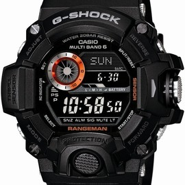 CASIO - G-SHOCK MASTER OF G RANGEMAN GW-9400BJ-1JF