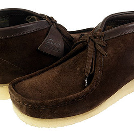 CLARKS - WALLABEE BOOT BROWN SUEDE