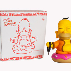 kidrobot - The Simpsons Homer Buddha Toy