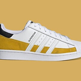 "adidas - SUPERSTAR ""HAZY YELLOW"""