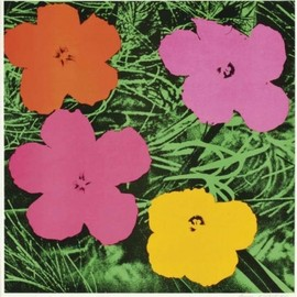 Andy Warhol - Flowers (1964 rithograph)