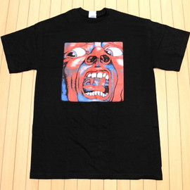 """KING CRIMSON """"In The Court Of The Crimson King""""  T-shirts"""