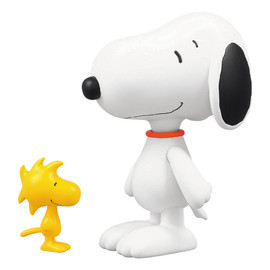 MEDICOM TOY - UDF PEANUTS シリーズ1 SNOOPY & WOODSTOCK