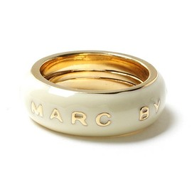 MARC BY MARC JACOBS - MARC LOGO BAND RING