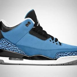 Nike - NIKE AIR JORDAN III RETRO POWDER BLUE