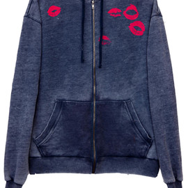 WILDFOX - GIVE US A KISS - LOVE STORY HOODIE