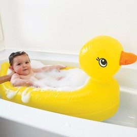 Munchkin - White Hot inflatable safety duck tub
