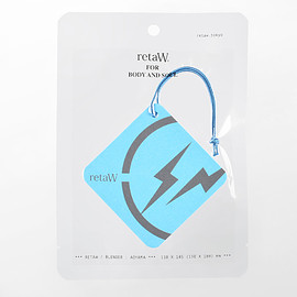 retaW, fragment design - Fragrance Car Tag FRGMT* blue