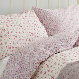 LAURA ASHLEY - Mille Fleurs Floral Pink Cotton Bedlinen