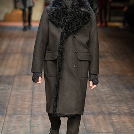 DOLCE&GABBANA - over coat 2014aw