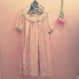 VINTAGE Boutiquemiaou - vintage night dress
