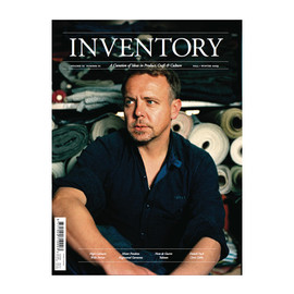 Inventory Magazine - INVENTORY Volume 01 Number 01 Christophe Loiron Cover