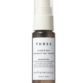 THREE - scalp & hair balancing treatment hair mist