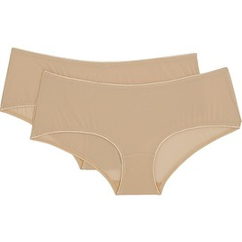 Bodas - Sheer Tactel set of two stretch-jersey briefs
