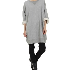 Maison Martin Margiela - Oversized sweatshirt dress