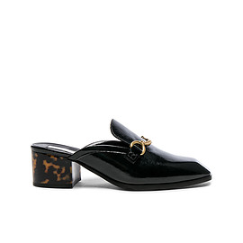 Stella McCartney - Chain Block Heel Mule Loafers