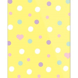 SECOND SKIN - uistore 「Dot (FreshLemon)」 / for iPhone 5s/SoftBank
