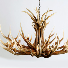 DEER HORN SMITH'S - Deer Horn Chandelier