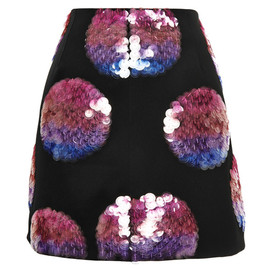 OPENING CEREMONY - FW2014 World Sequin Paillette A-Line Mini Skirt