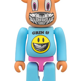 "MEDICOM TOY - Zac Pac x Ron English ""Grin and Bear It"" BE@RBRICK 2011"