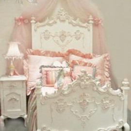 Florentina Princess Bed by Villa Bella ..this is so gorgeous!!!!