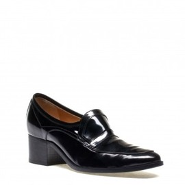 LANVIN - FLAT LOAFER IN POLISHED CALFSKIN