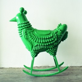 Jaime Hayon - Green chicken