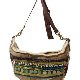 1982114251 - remade mouton banana bag with afghanbelt(ショルダーバッグ)|その他5