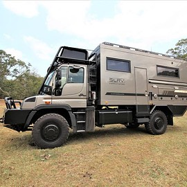 SLRV - Unimog U430 Expedition Vehicle