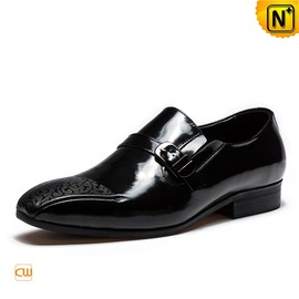 CWMALLS - Monk Strap Patent Leather Dress Shoes for Men CW763313