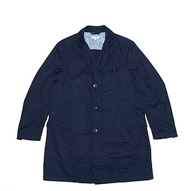 ENGINEERED GARMENTS - Chester Coat-Cavalry Twill-Dk.Navy