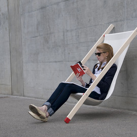 Bernhard Burkard - curt deck chair